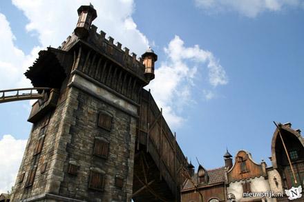 Toren en lift van De Vliegende Hollander